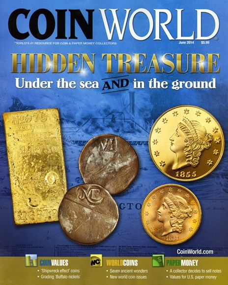 Coin World Monthly Cover - 6/1/2014
