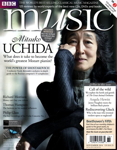 BBC Music Cover - 11/1/2014