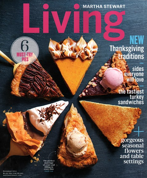 Martha Stewart Living Cover - 11/1/2014