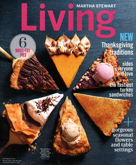Martha Stewart Living Cover - 11/1/2014