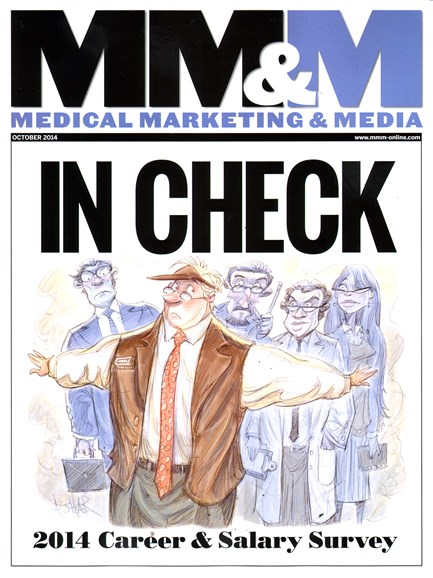 Medical Marketing & Media Cover - 10/1/2014