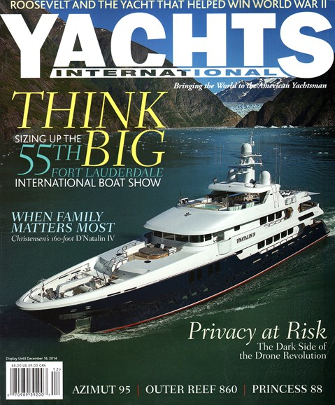 Yachts International Cover - 11/1/2014