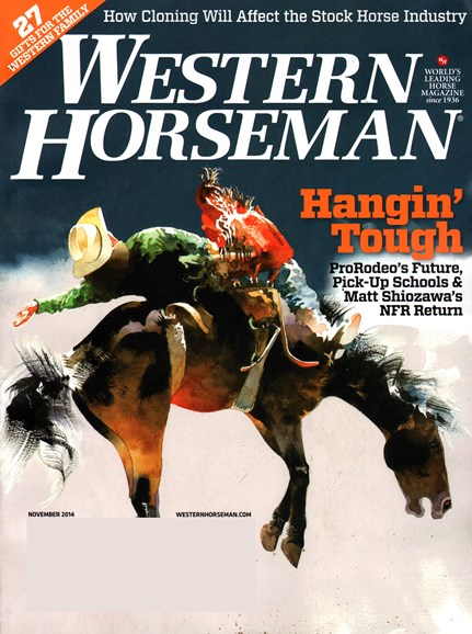 Western Horseman Cover - 11/1/2014