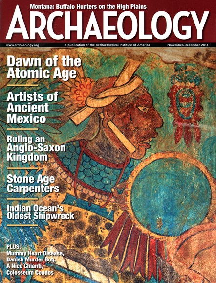 Archaeology Cover - 11/1/2014
