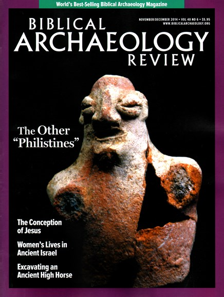 Biblical Archaeology Review Cover - 11/1/2014