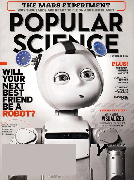 Popular Science Cover - 11/1/2014