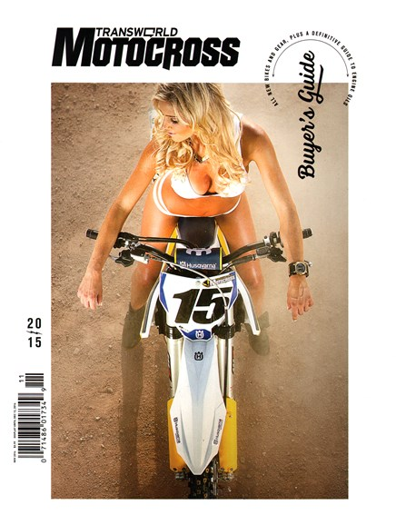 Transworld Motocross Cover - 11/1/2014