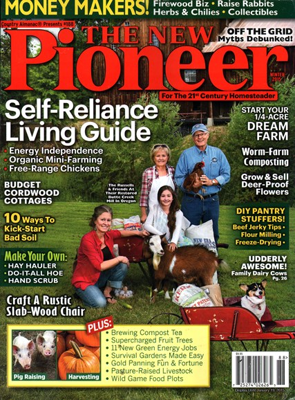 The New Pioneer Cover - 12/1/2014