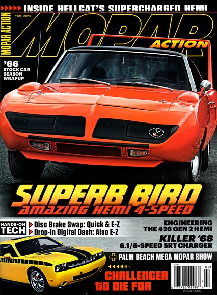 Mopar Action Cover - 2/1/2015
