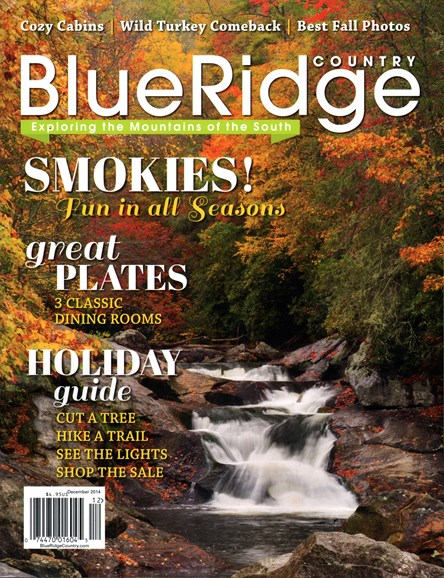 Blue Ridge Country Cover - 12/1/2014