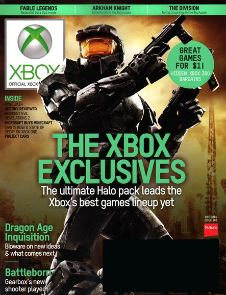 Official Xbox Magazine Cover - 12/1/2014