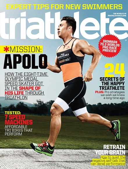 Triathlete Cover - 9/1/2014