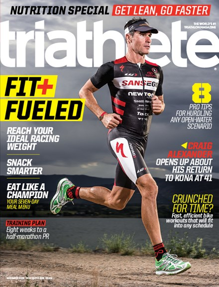 Triathlete Cover - 11/1/2014