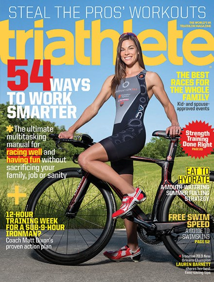 Triathlete Cover - 8/1/2014