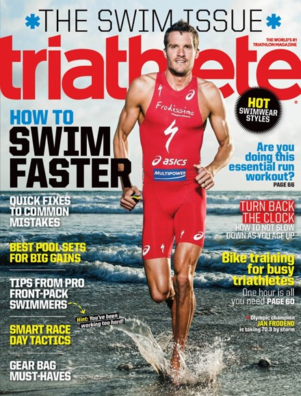 Triathlete Cover - 7/1/2014