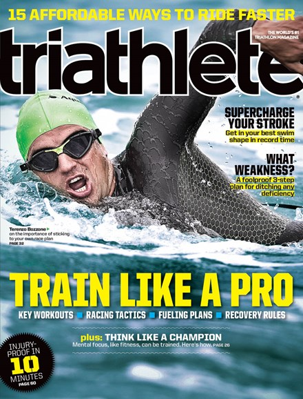 Triathlete Cover - 3/1/2014