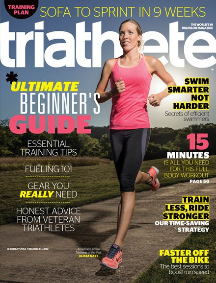 Triathlete Cover - 2/1/2014