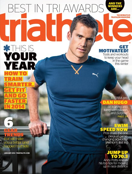 Triathlete Cover - 1/1/2014