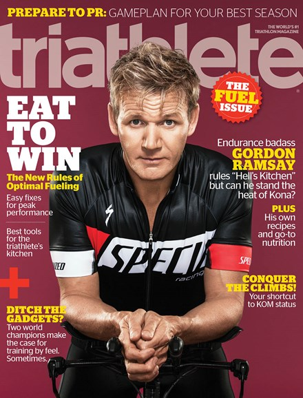 Triathlete Cover - 11/1/2013