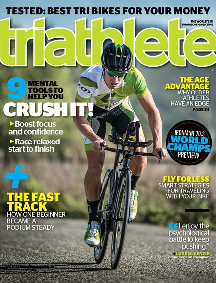Triathlete Cover - 9/1/2013