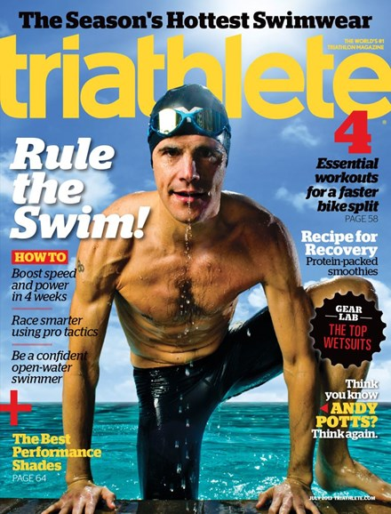 Triathlete Cover - 7/1/2013