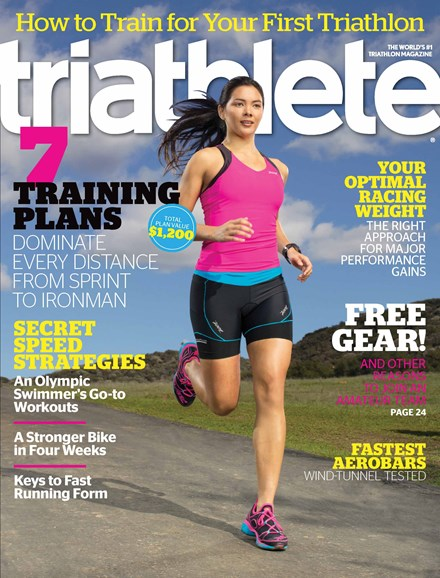 Triathlete Cover - 4/1/2013