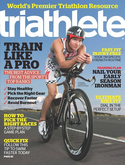 Triathlete Cover - 3/1/2013