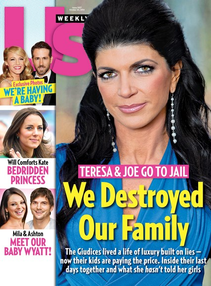 Us Weekly Cover - 10/20/2014