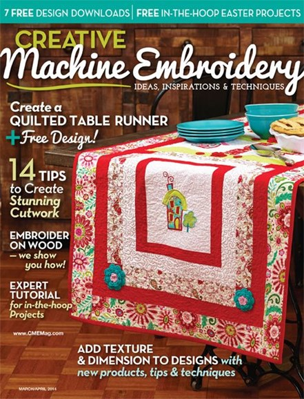 Creative Machine Embroidery Cover - 3/1/2014