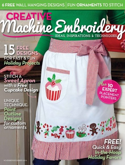Creative Machine Embroidery Cover - 11/1/2014