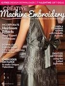 Creative Machine Embroidery 1/1/2014