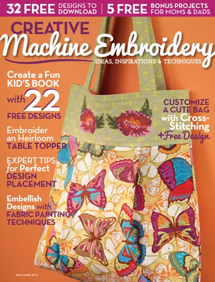 Creative Machine Embroidery Cover - 5/1/2013