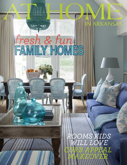 At Home In Arkansas Cover - 8/1/2014