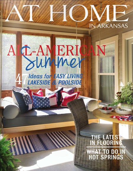 At Home In Arkansas Cover - 7/1/2014