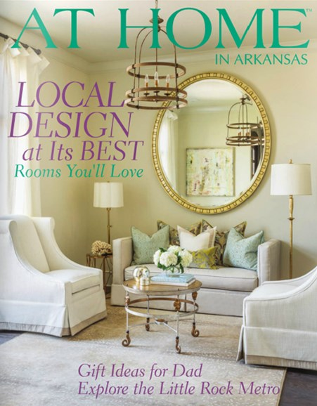 At Home In Arkansas Cover - 6/1/2014