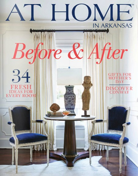At Home In Arkansas Cover - 5/1/2014
