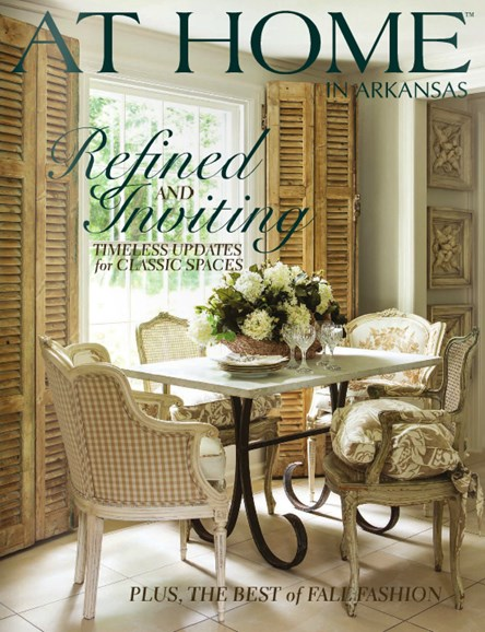 At Home In Arkansas Cover - 10/1/2014