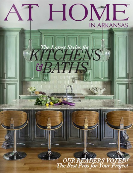 At Home In Arkansas Cover - 9/1/2014