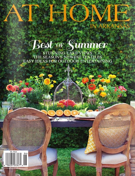 At Home In Arkansas Cover - 6/1/2013