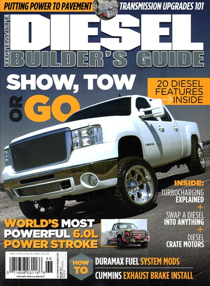 Ultimate Diesel Builder's Guide Cover - 10/1/2014