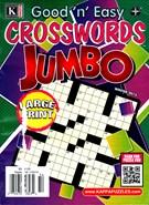 Good N Easy Crosswords Jumbo Magazine 12/1/2014
