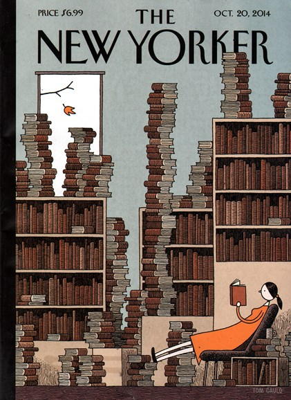 The New Yorker Cover - 10/20/2014