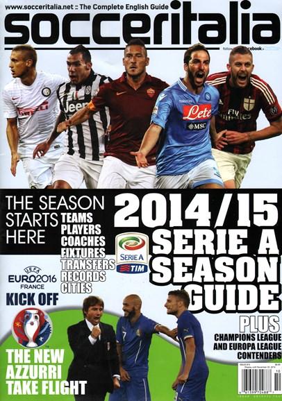 Soccer Italia Cover - 10/1/2014