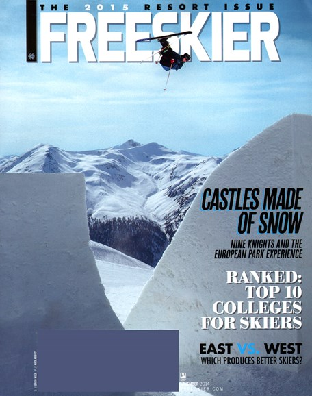 Freeskier Cover - 11/1/2014