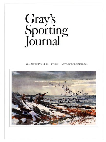Gray's Sporting Journal Cover - 11/1/2014