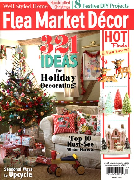 Flea Market Décor Cover - 12/1/2014