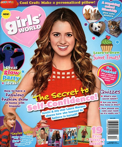 Girls' World Cover - 12/1/2014