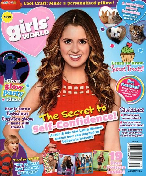 Girls' World Cover - 12/1/2014