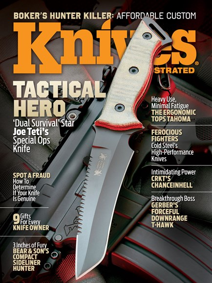 Knives Illustrated Cover - 12/1/2014