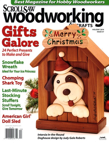 Scroll Saw Woodworking & Crafts Cover - 12/1/2014